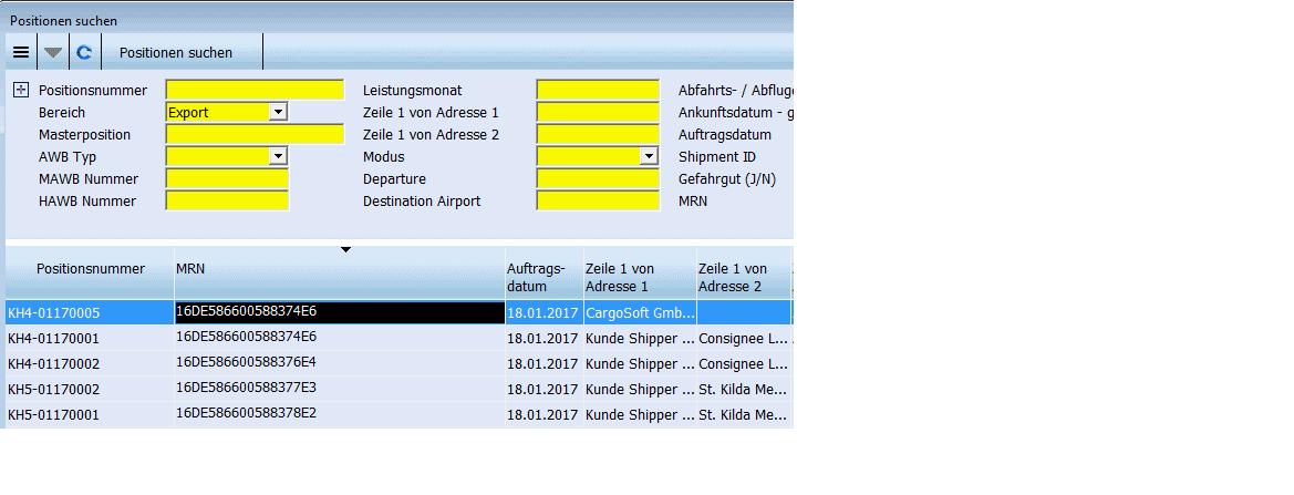 CargoSoft MRN